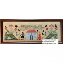 Схема Wittlesford Cottage Rosewood Manor S1285