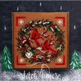 Набор Cardinal Wreath Mill Hill MHCB223