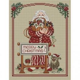 Схема Stitching Santa Sue Hillis Designs