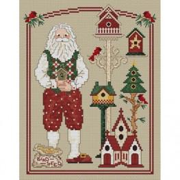 Схема For Santa's Friends Sue Hillis Designs
