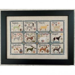 Схема Greyhound Year The Blue Flower