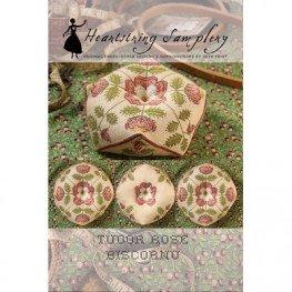 Схема Tudor Rose Biscornu Heartstring Samplery