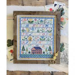 Схема My Home in the Garden Hello from Liz Mathews