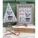 Схема Third Day of Christmas Sampler & Tree Hello from Liz Mathews