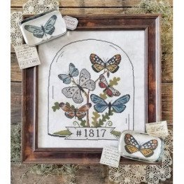 Схема Butterfly Cloche Hello from Liz Mathews