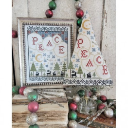 Схема Fifth Day of Christmas Sampler and Tree Hello from Liz Mathews