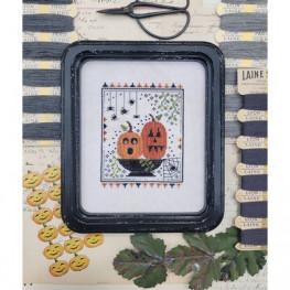 Схема Two Pumpkins Bright Hello from Liz Mathews