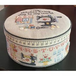 Схема Auntie's Sewing Box Sue Hillis Designs