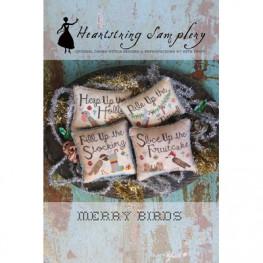 Схема Merry Birds Heartstring Samplery