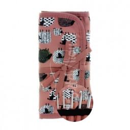 Набор вязальных алюминиевых крючков (розовый) DMC U1965