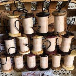 Деревянная катушка Wood Spool Jeannette Douglas JD274S