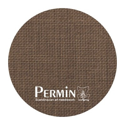 Тканина Permin Milk Chocolate (076-95)