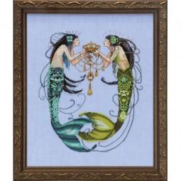 Схема The Twin Mermaids Mirabilia MD141