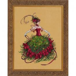 Схема Miss Christmas Eve Mirabilia MD148