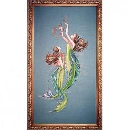 Схема Mermaids of the Deep Blue Mirabilia...