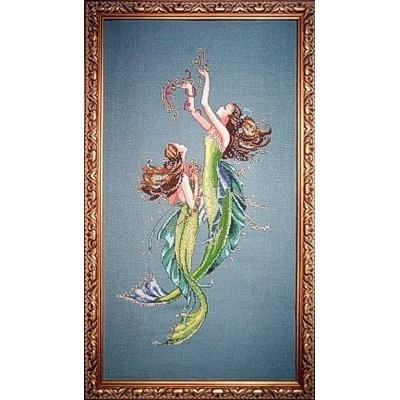 Схема Mermaids of the Deep Blue Mirabilia MD85