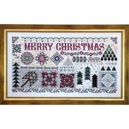 Схема Christmas Quilts Rosewood Manor S1109