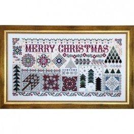 Схема Christmas Quilts Rosewood Manor S1109