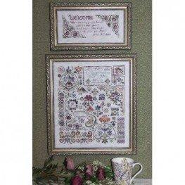Схема Flowers of Rosehall Rosewood Manor SS103