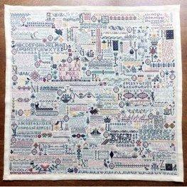 Схема 101 Alphabets Rosewood Manor S1111