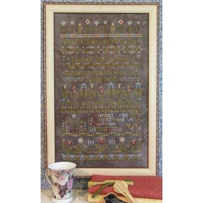 Схема Flowers Awake! Rosewood Manor S1019