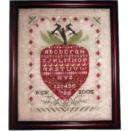 Схема Strawberries All Around Rosewood Manor S1116