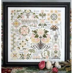 Схема Dreaming Of Roses Rosewood Manor S1047