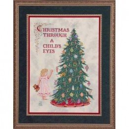 Схема Christmas Through A Child's Eyes Glendon Place GP-107