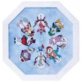 Snowmen Ala Round Glendon Place