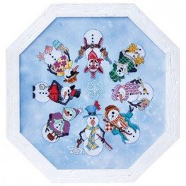 Схема Snowmen Ala Round Glendon Place GP-197