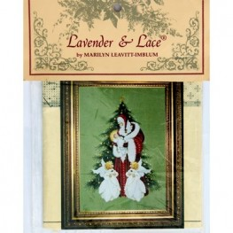 Схема Song of Christmas Lavender and Lace LL46