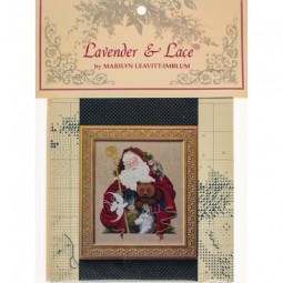 Santa of the Forest Lavender and Lace