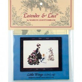 Схема Little Wings Lavender and Lace LL04