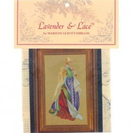 Схема In the Arms of an Angel Lavender and Lace LL47