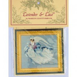 Angel of Winter Lavender and Lace