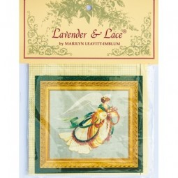 Схема Angel of Autumn Lavender and Lace LL30