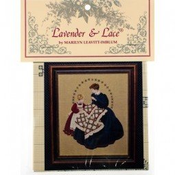 Схема The Quiltmaker Lavender and Lace LL27