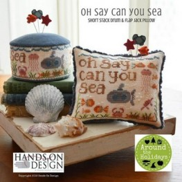 Схема Oh Say Can You Sea – Around The Holidays Hands on Design
