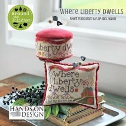 Where Liberty Dwells Hands on Design