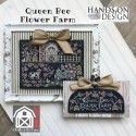 Схема Queen Bee Flower Farm: Chalk On The Farm Hands on Design
