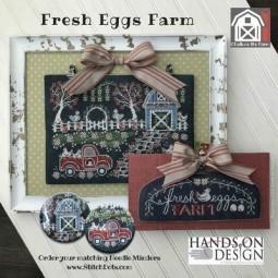 Схема Fresh Eggs Farm: Chalk On The Farm Hands on Design