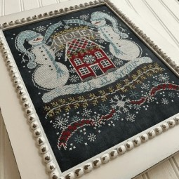 Схема Let It Snow Bungalow: Chalk For The Home Hands on Design