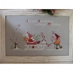 Non e Natale senza Vischio Cuore e Batticuore