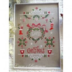 Схема Ama il Natale Cuore e Batticuore