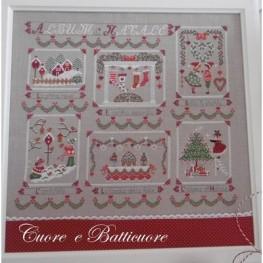 Схема Album di Natale Cuore e Batticuore