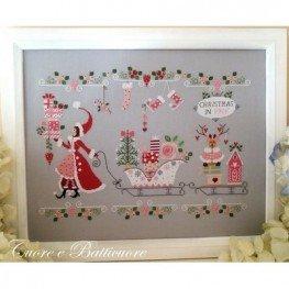 Схема Natale in Rosa Cuore e Batticuore