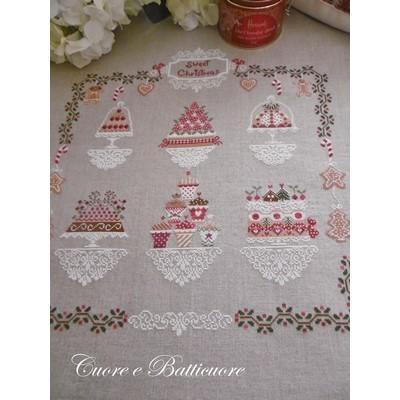 Схема Sweet Christmas Cuore e Batticuore