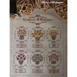 Схема Giardino d'Autunno Cuore e Batticuore