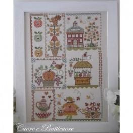 Схема Autumn in Quilt Cuore e Batticuore