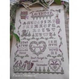 Схема Lavender Sampler Cuore e Batticuore